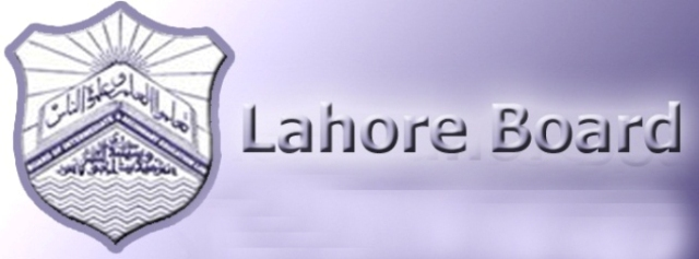 BISE Lahore Board 10th Class Result 2013