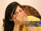 Beautiful Sanam Baloch on her Mayun story