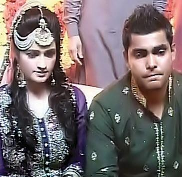 Umar Akmal Cricketer has been tied the knots with Noor Amna.