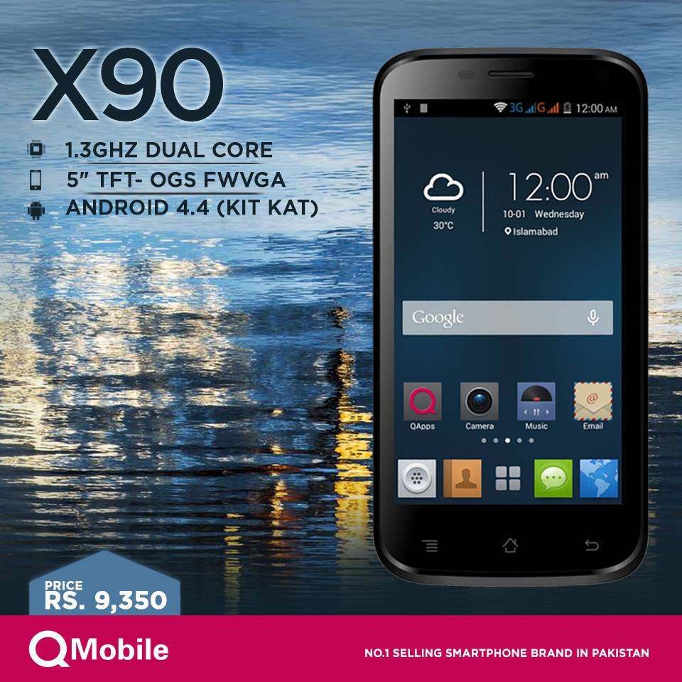 QMobile X90 Price in Pakistan