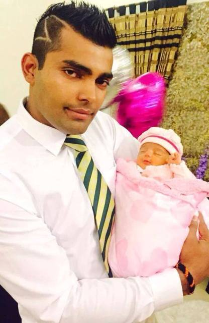 Umar Akmal's Daughter Harleen Umar Pictures