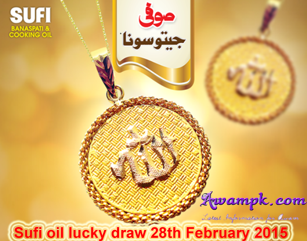 Sufi Oil and Ghee 2nd draw Gold pendant