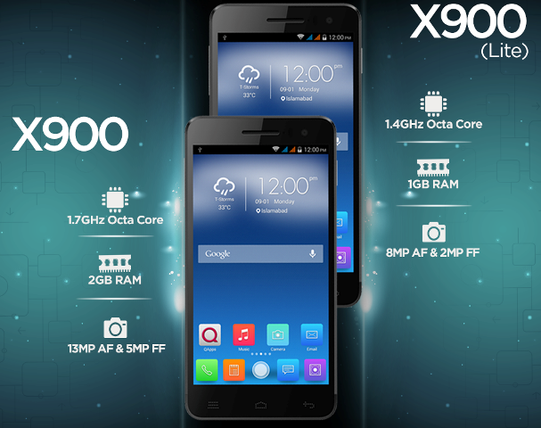 QMobile X 900 Specification & Features