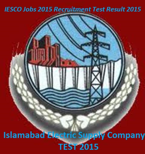 Islamabad Electric Supply Company test result 2015