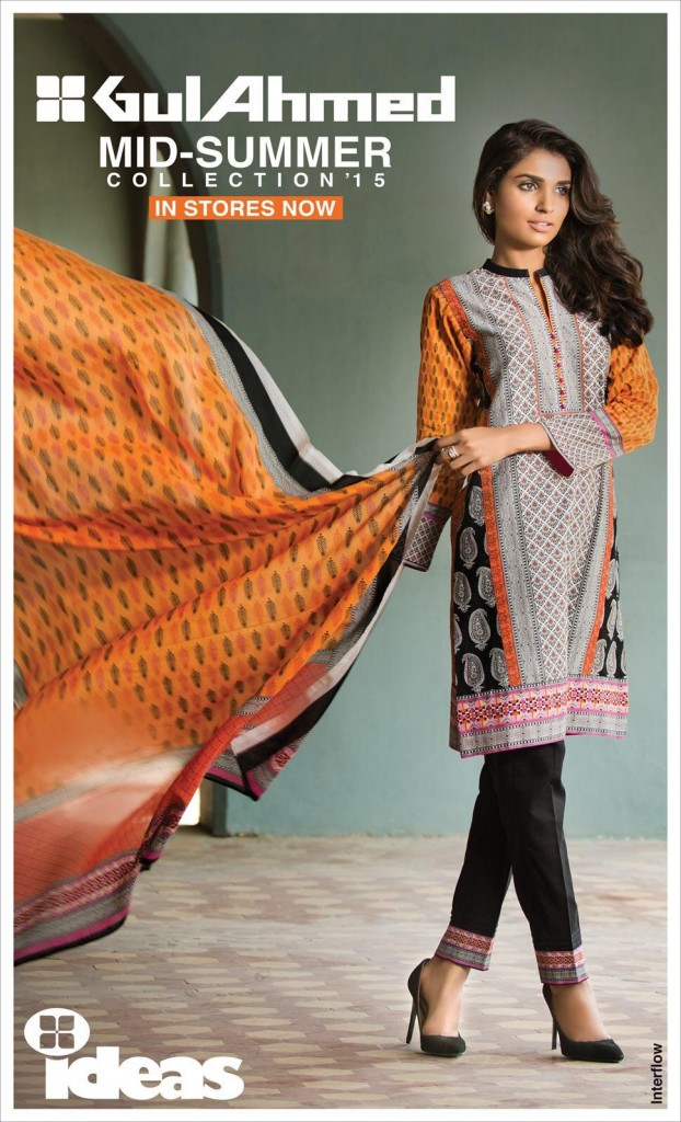 Gul ahmed Midsummer Collection 2015