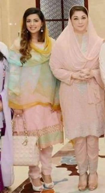 maryam nawaz daughter wedding pictures