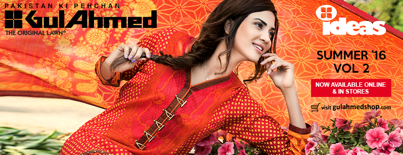 Gul Ahmed Lawn 2016 Vol 2 with Prices