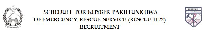 INTERVIEW OF FOR KHYBER PAKHTUNKHWA OF EMERGENCY RESCUE SERVICE (RESCUE-1122)