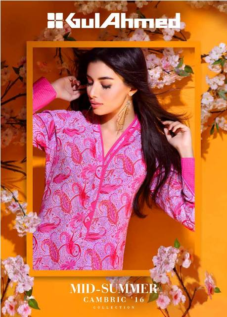 Gul Ahmed Mid summer Cambric
