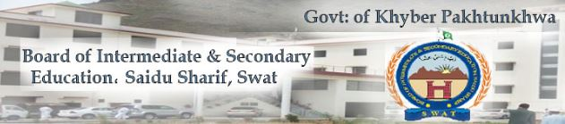 Swat Board 10th class result 28th June 2018