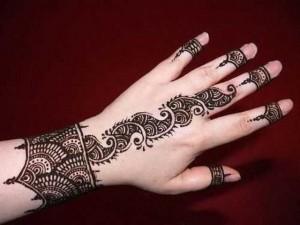 Easy Eid Mehndi Henna Designs 2013 Collection For Girls