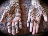 Easy Eid Mehndi Henna Designs 2013 Collection For Girls