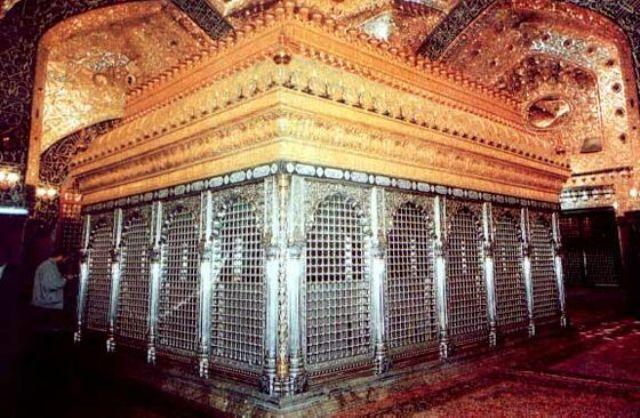 Grave of Hazrat Ali (karam Allahu wajhu)