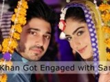 Babar Khan & Sana Khan Engagement Photos