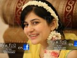 Beautiful Sanam Baloch on her Mayun