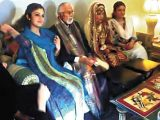 Zulfiqar Ali Khan Khosa has married Granddaughter of Nawab of Kalat Fariyal.
