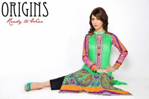 Origins Lawn Collection 2014 for girls