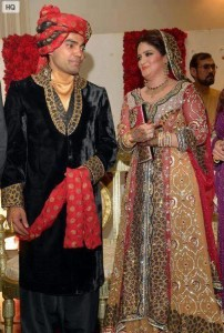 Umar Akmal& Noor Amna wedding photos