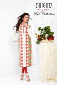 Origins Embroidered Eid Collection 2014