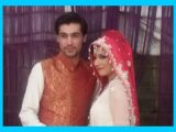 Pakistani Cricketer Muhammad Amir marriage photos with Nargis.