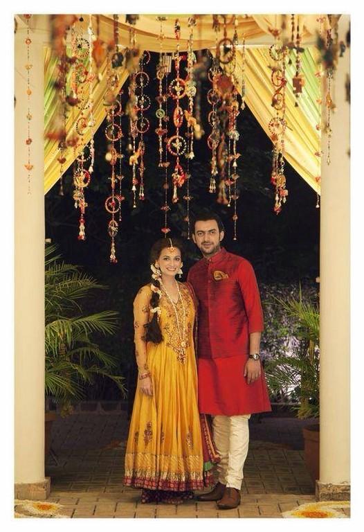 Dia Mirza& Sahil Sangha Marriage Photos