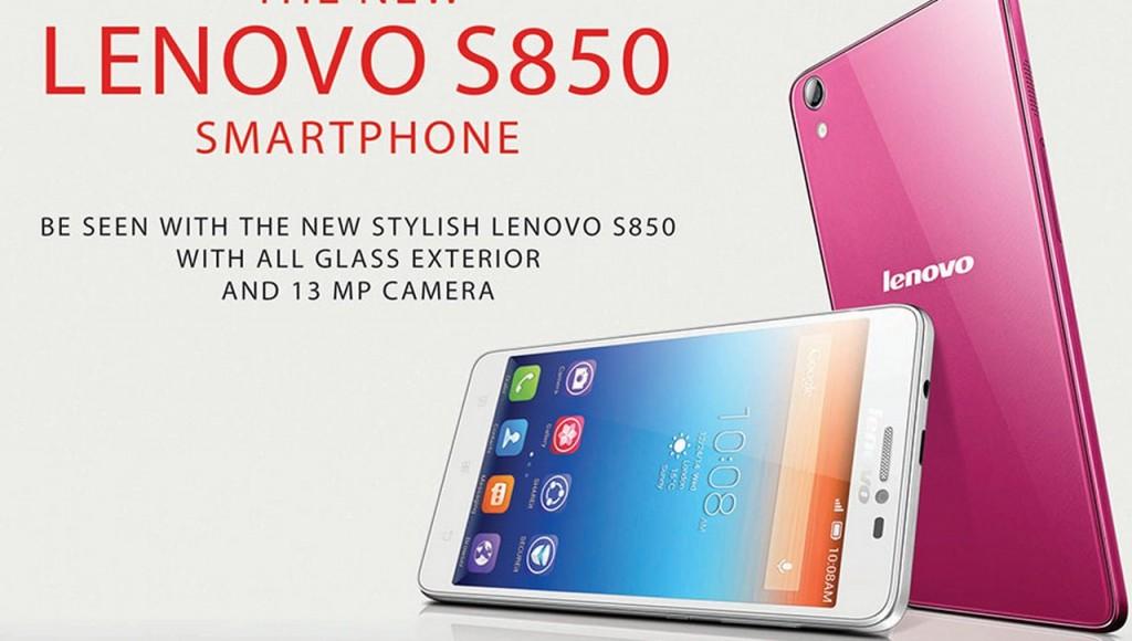 LENOVO S850 SMARTPHONE