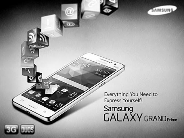 Galaxy Grand Prime mobile phone