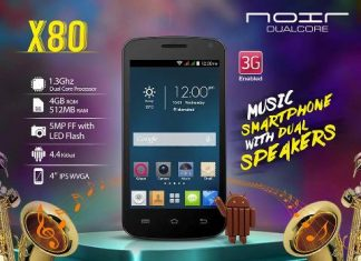 price of Qmobile X80