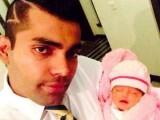 Umar Akmal's Daughter Harleen Umar Pic