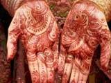 sharmila farooqi wedding mehdi photos