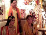 Sharmila Farooqi's mehdi ceremony pictures
