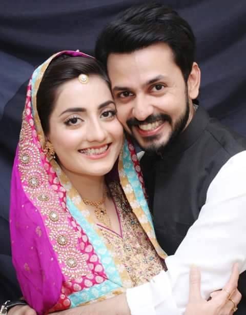 Bilal Qureshi and Uroosa Qureshi wedding images
