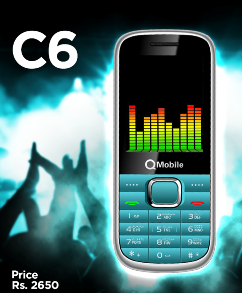 QMobile C6 Price in Pakistan