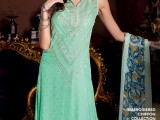 Gul Ahmed Sea Green Shad Color dress