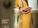 Gul Ahmed Yellow color Dress