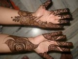 latest mehndi designs 2015 for women
