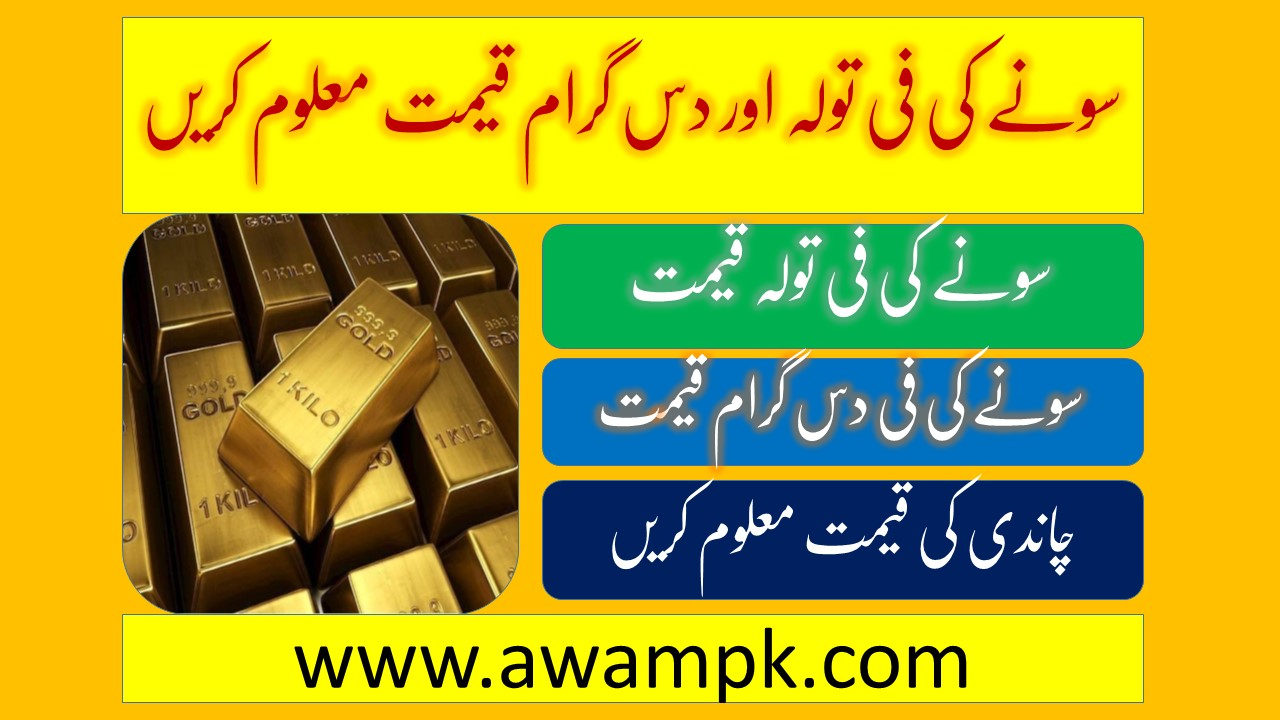 Gold and Silver Current Rates & Price in Pakistan
