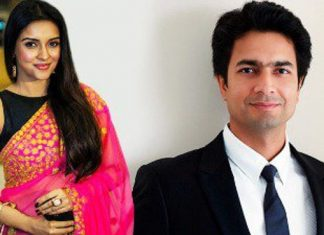 Pictures of Actress Asin & Rahul Sharma