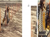 Sana Shafi Black and white printed kameez
