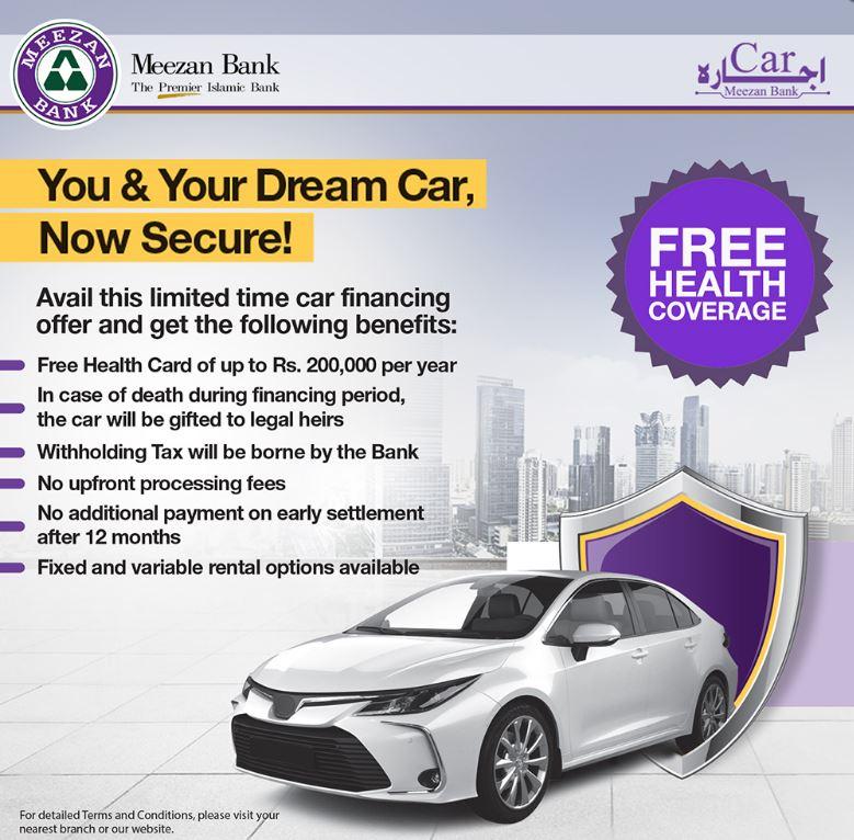 Meezan Bank Car Ijarah Scheme 2020