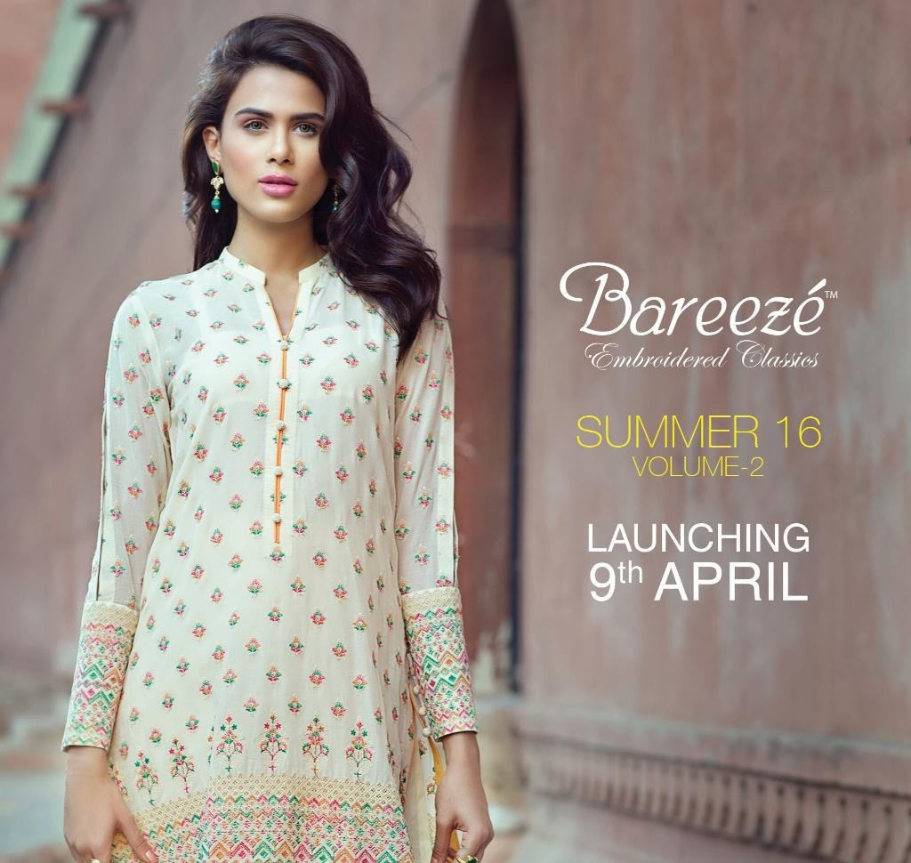 bareeze embroidered classics 2016