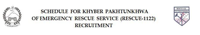 rescue 1122 kpk jobs 2016