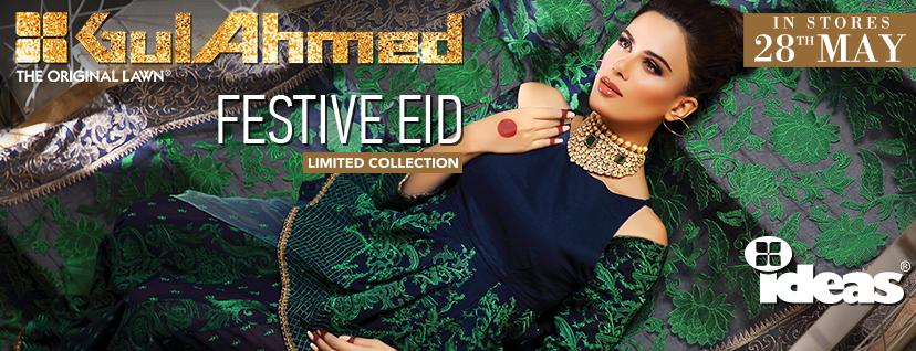 Gul Ahmed Festive Eid 2016