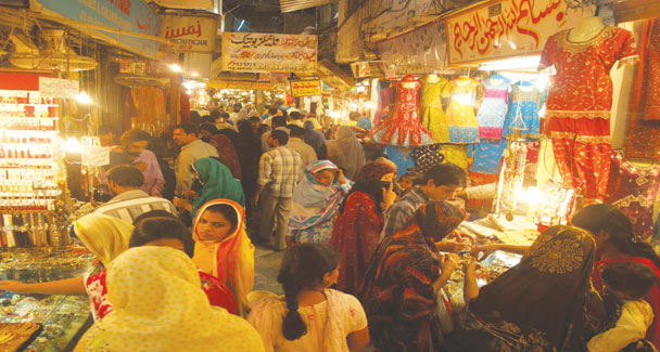 bazars of chand raat