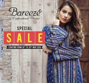 Bareeze Summer Collection 2016-2017