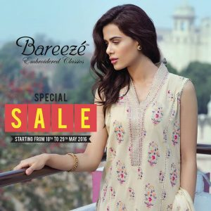 areeze Embroidered Classic Summer Clothes
