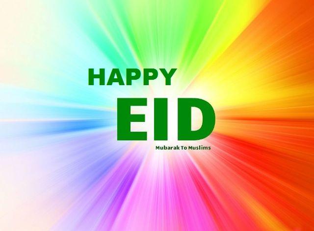 Happpy Eid ul fitr 2018