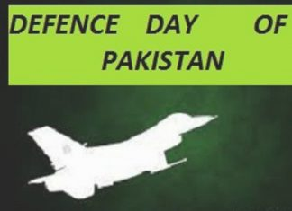 Defense Day of Pakistan is a historical day for pakistan
