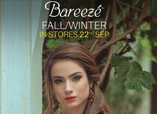 Bareeze Embroided Winter Collection