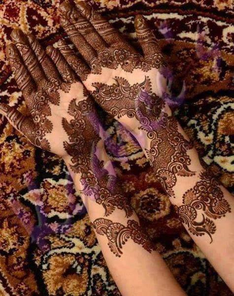 new-mehndi-designs-wedding-ceremony 2016-17